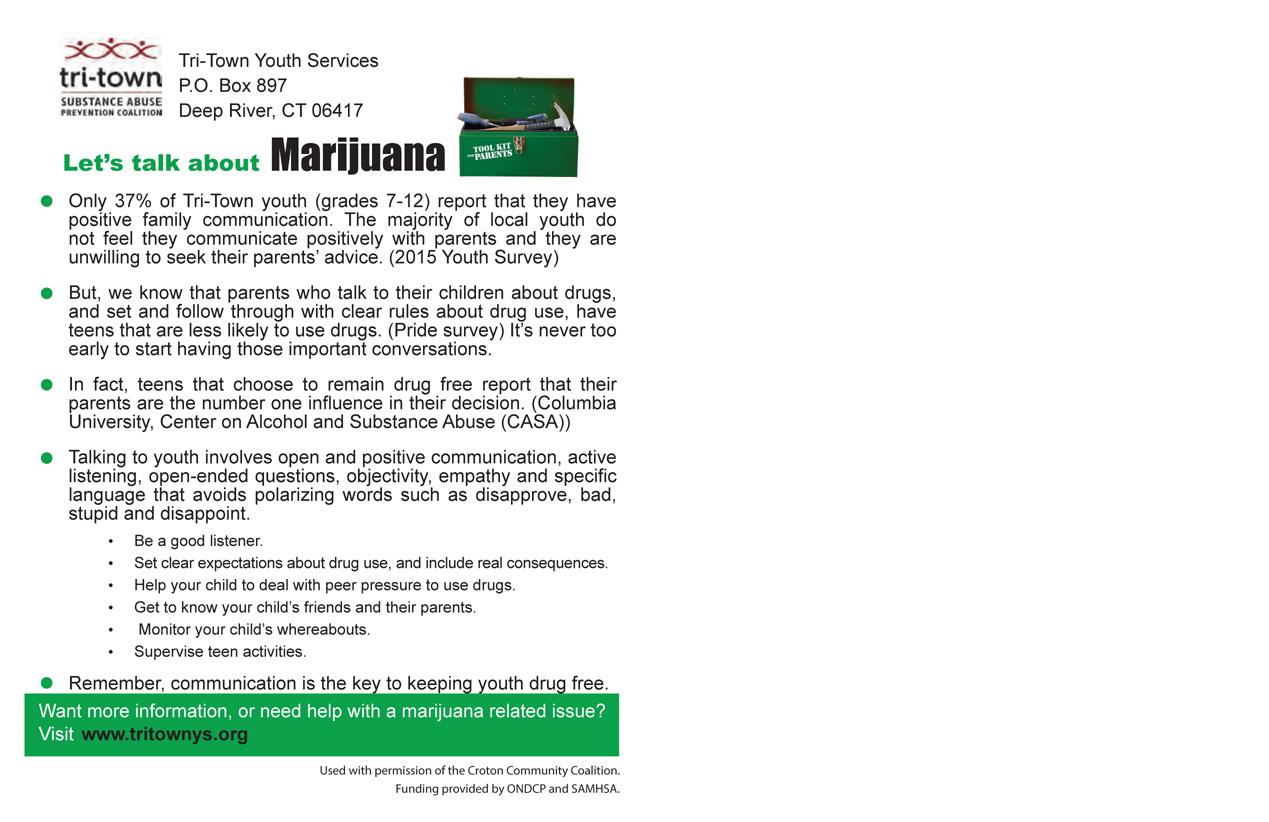 Marijuana 4 Back